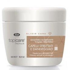 Маска для сияния и блеска волос Lisap Top care repair Elixir Care