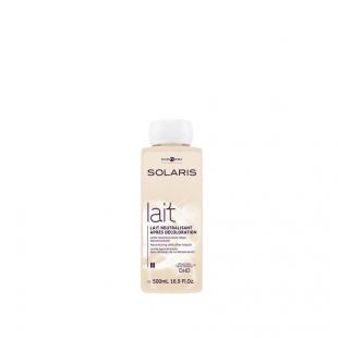 купить Нейтрализующее молочко после обесцвечивания волос «Solaris». Товар доступен для частных мастеров и салонов. в Минске