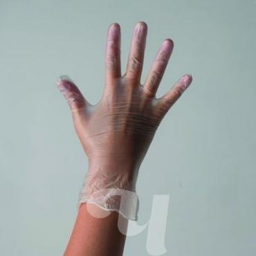 купить Перчатки винил неопудренные бесцветные L Medmarket 100 шт/уп в Минске