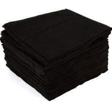 Купить Полотенце Спанлейс Черный бархат 35х70 50 шт/упак НОВИНКА в Минске